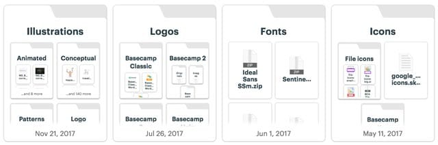 docs and files in Basecamp 3